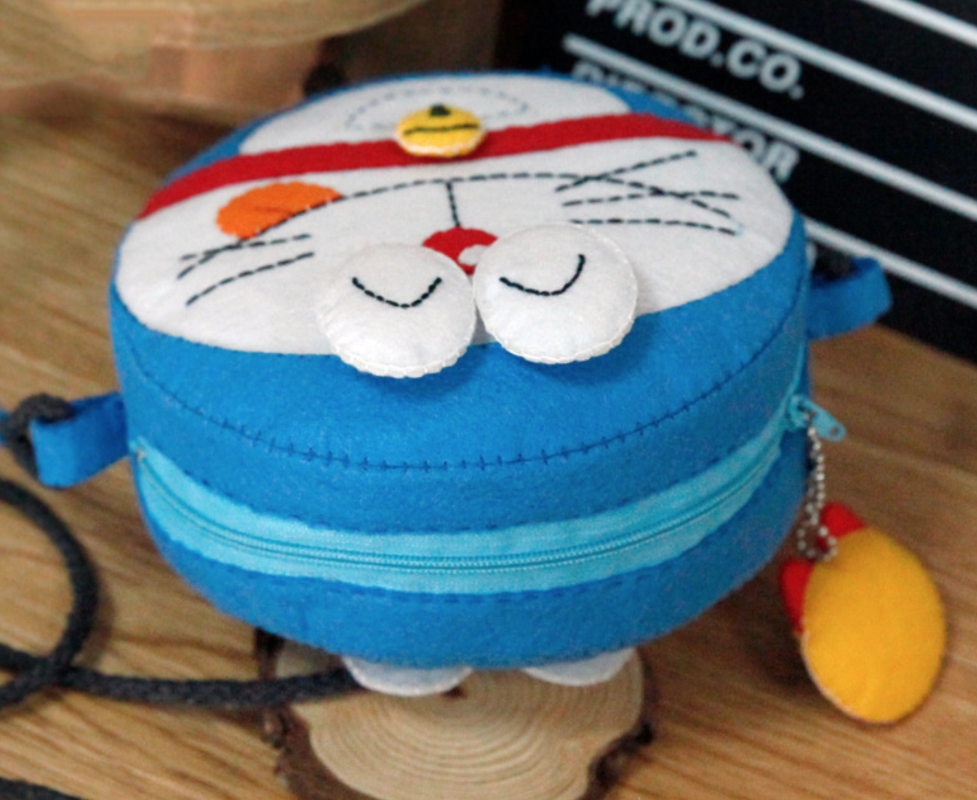 DIY Doraemon Purse
