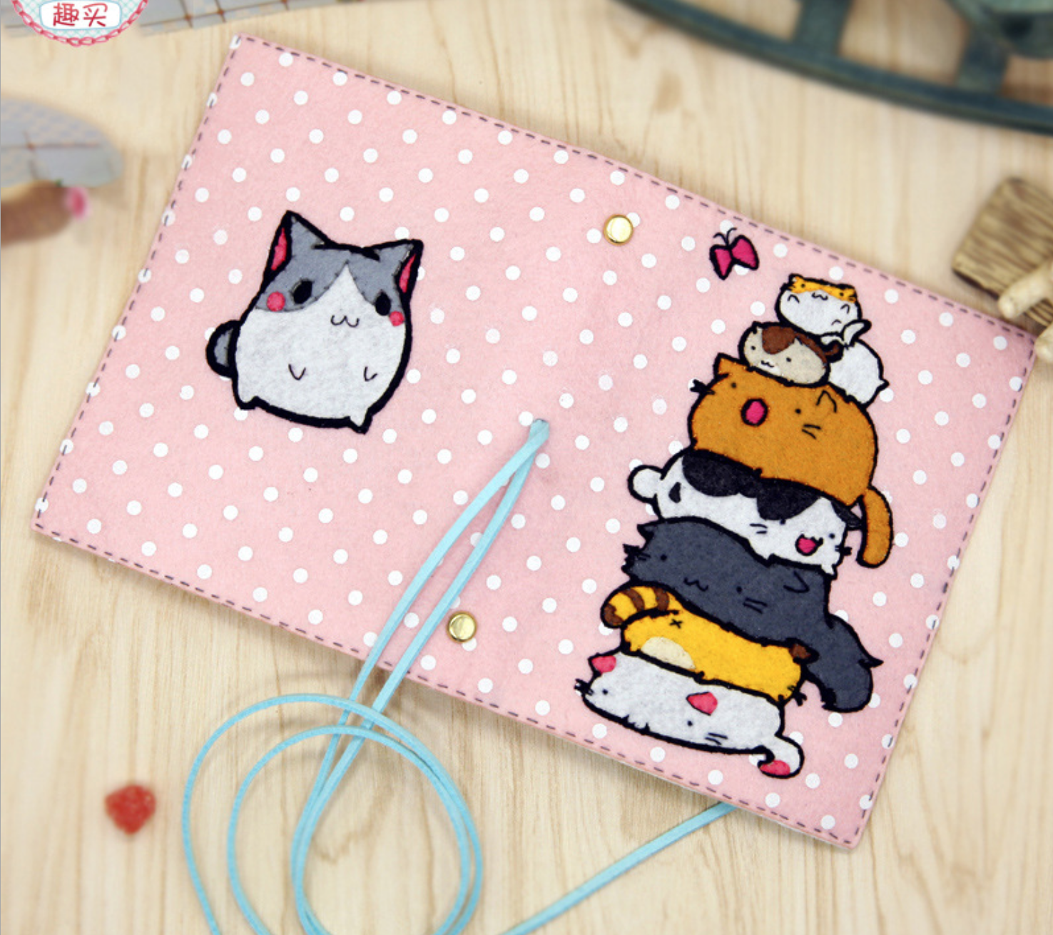 DIY Cat Pile Notebook