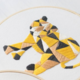 Mosaic Animals DIY Embroidery Leopard 15cm