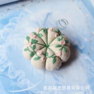 Pin Cushion DIY Embroidery