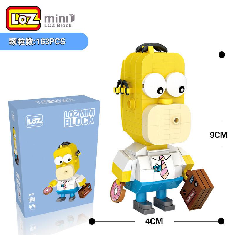 LOZ Homer Simpson LOZ1467
