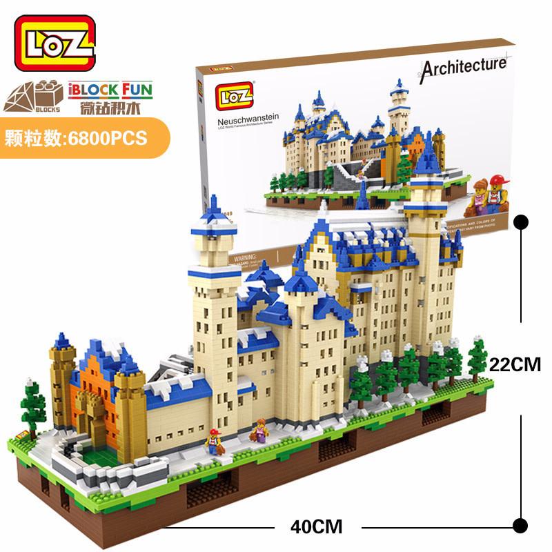 LOZ Neuschwanstein Castle LOZ9049