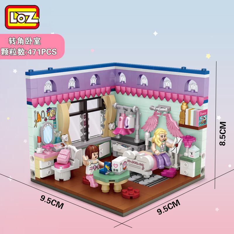 LOZ Girl Bedroom LOZ1902