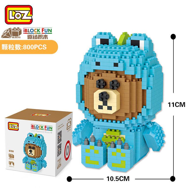 LOZ Bear in Frog LOZ9790