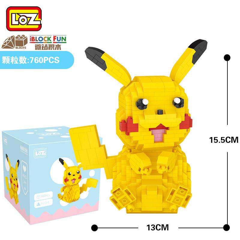 LOZ Pikachu LOZ9224