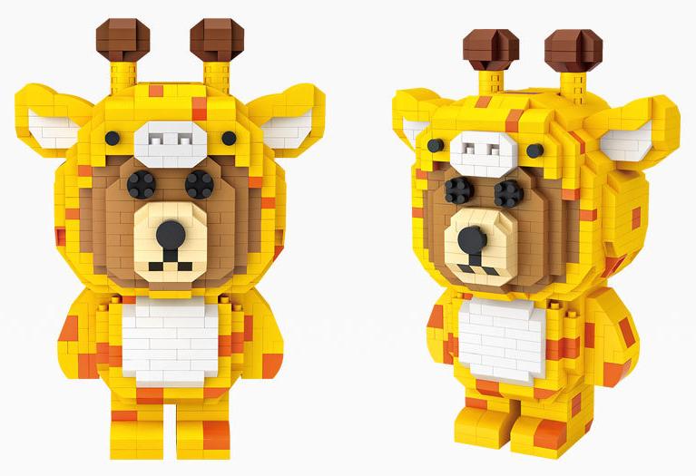 LOZ Giraffe Bear LOZ9231