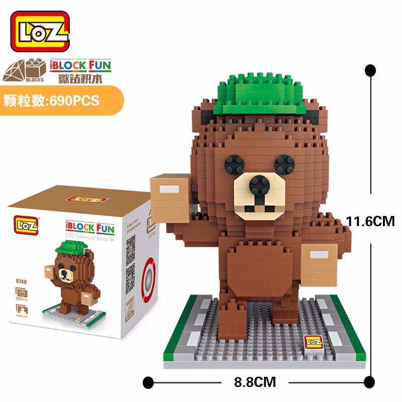 LOZ Teddy Delivery LOZ9749