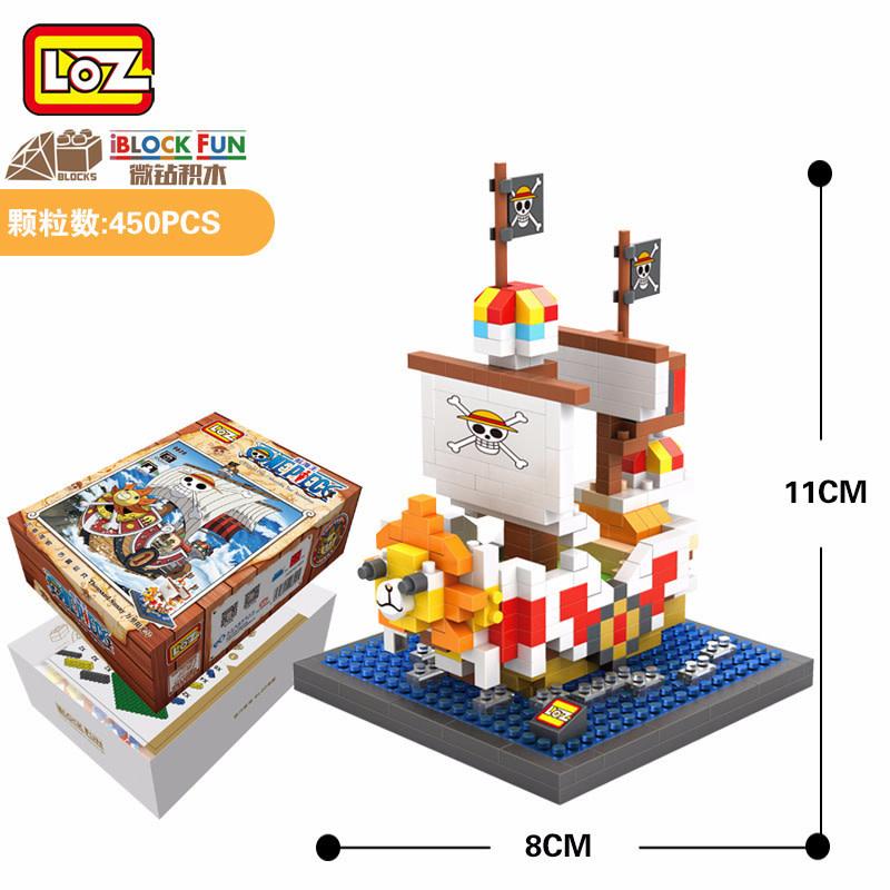LOZ One Piece Ship LOZ9828