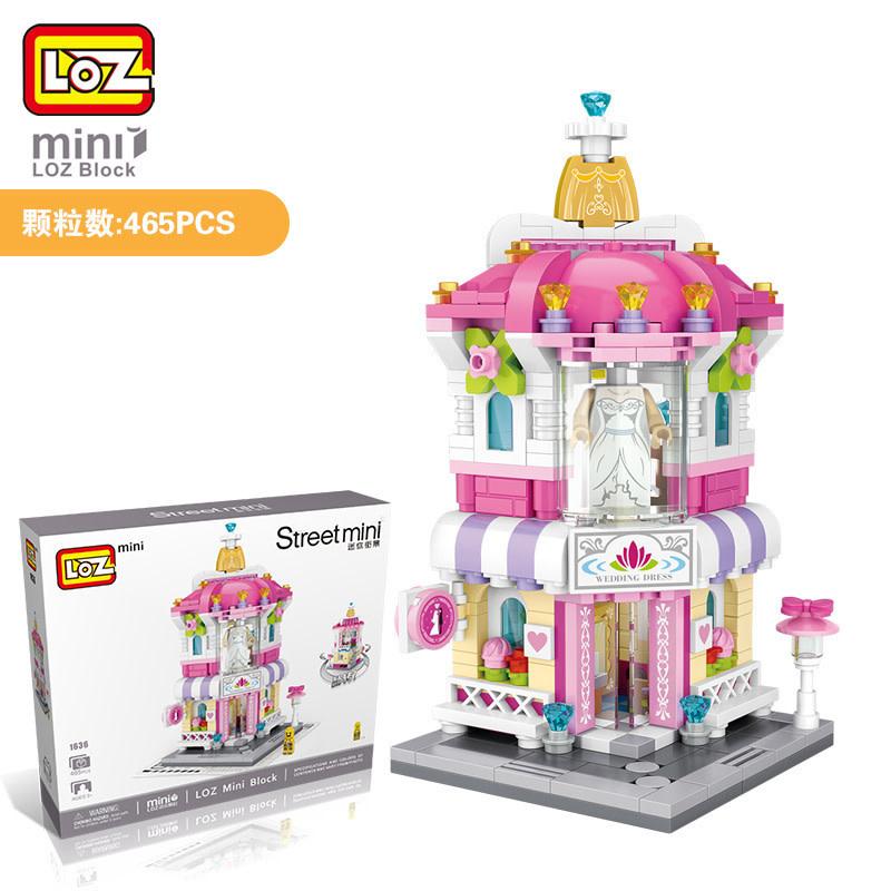 LOZ Wedding Dress Shop LOZ1636