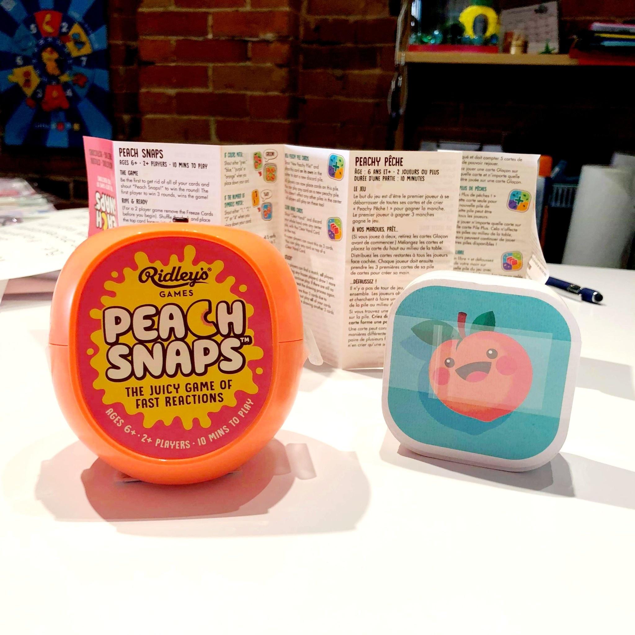 Peach Snaps