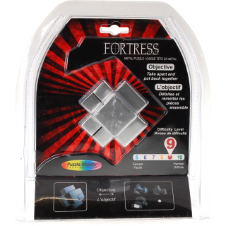 Fortress Metal Puzzle