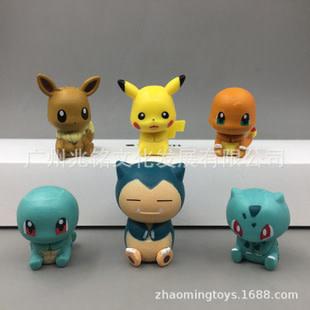 Pokemon Park Statues