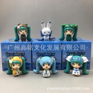 Hatsune Miku Capsule Factory Statue