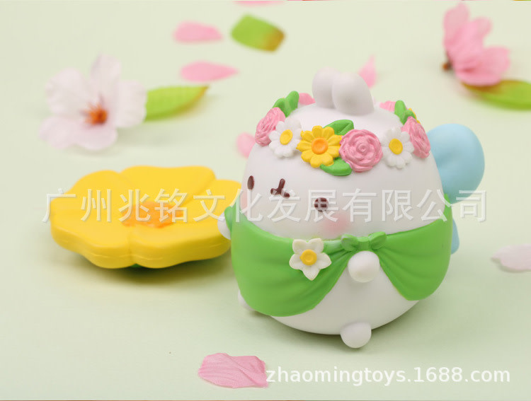 Molang Spring Wreath Special Figure