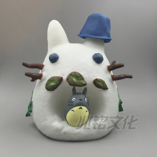 Totoro Snowman Coinbank