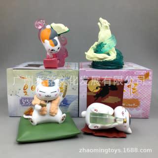 Nyanko Sensei Small Statue (4 Set) Hot