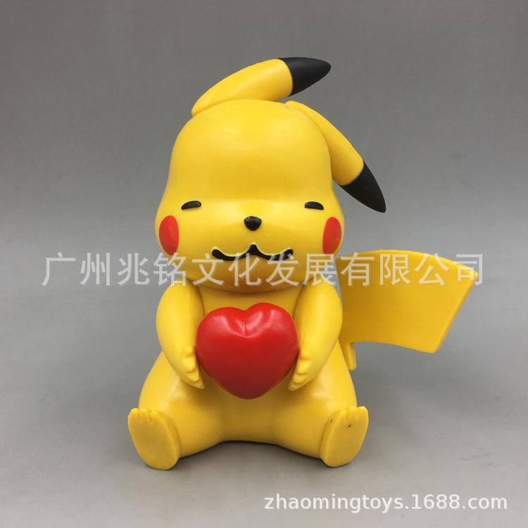Pikachu Apple Statue