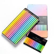 C600-12TN (PS) Color Pencil Pink Set 12 Set