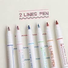 WP3001 Double Line Pen Set
