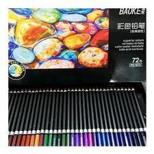 1672 Baoke 72 set Color Pencil