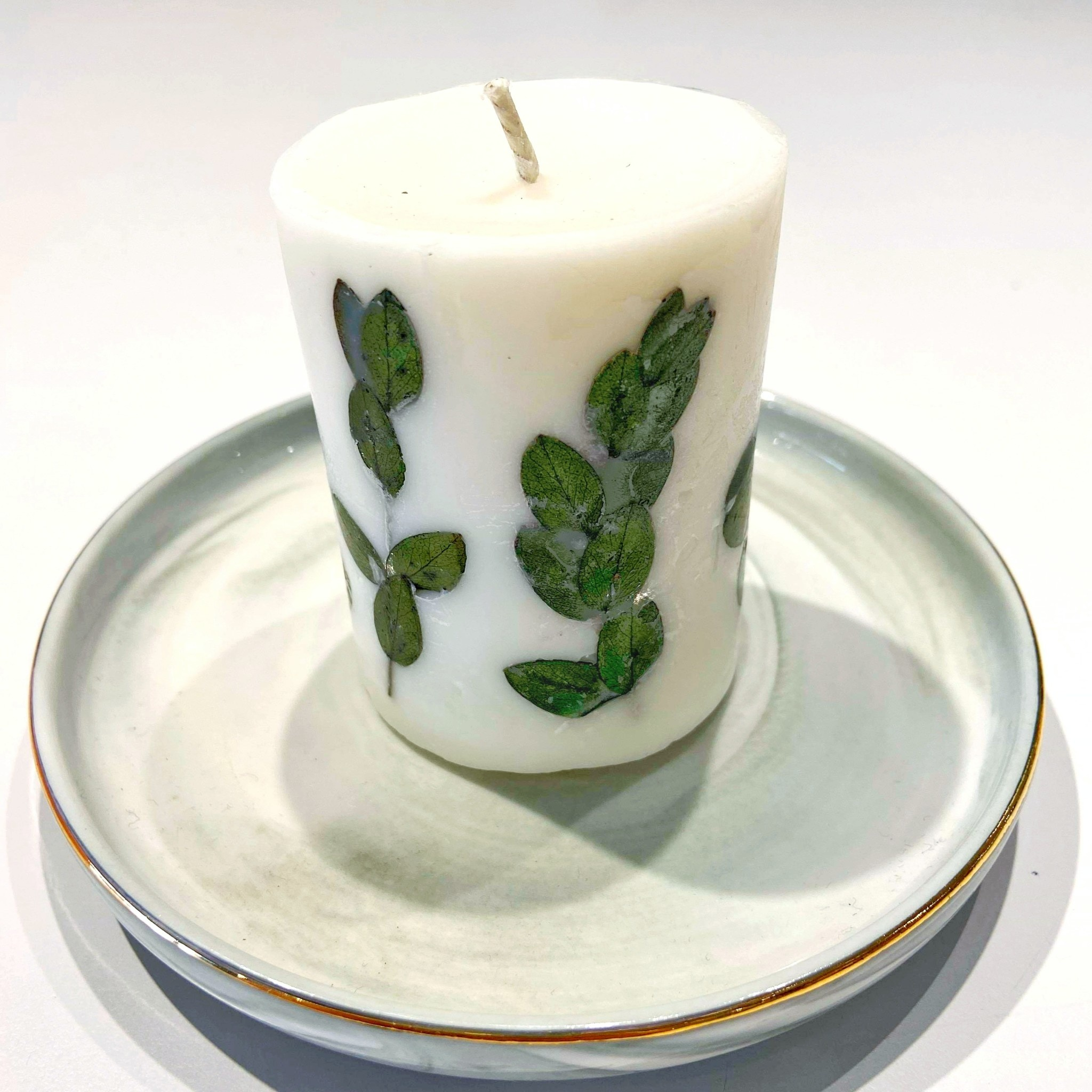 Soy Candle with English Pear and Freesia