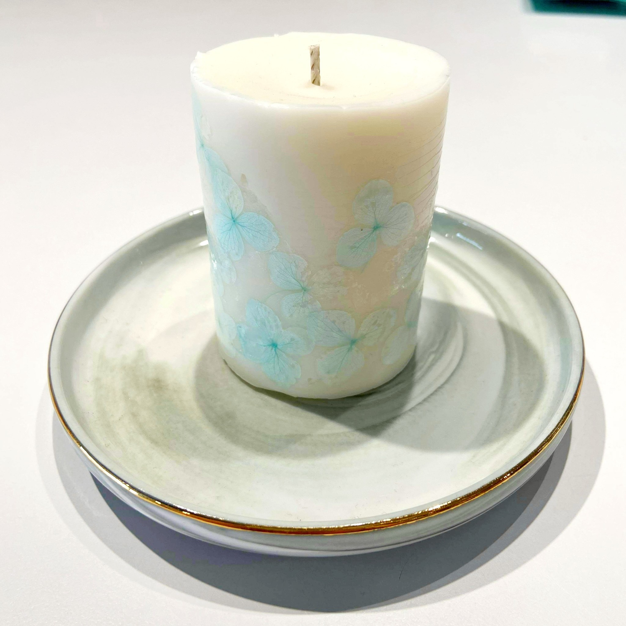 Soy Candle with Wild Bluebell