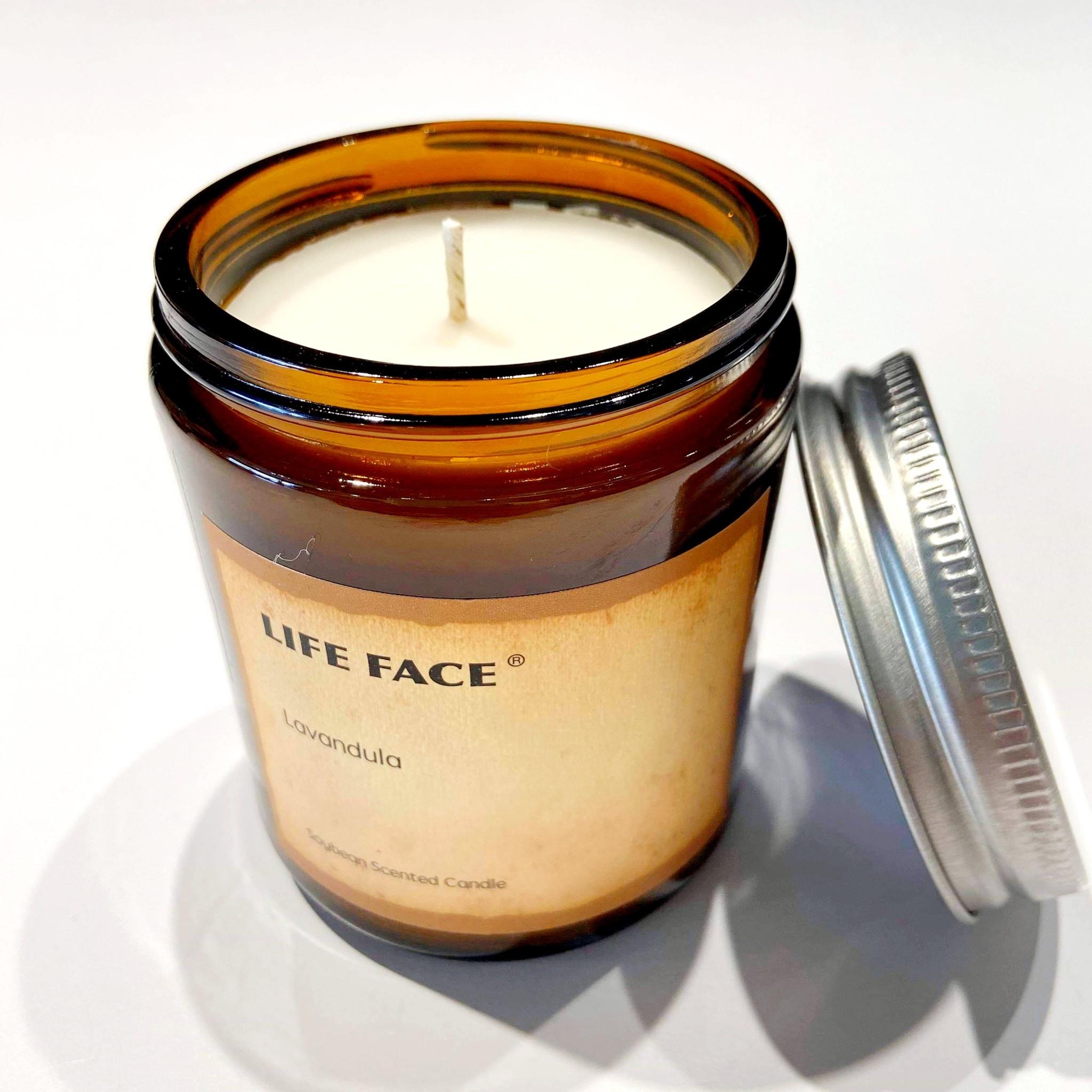 Soy Candle in Jar - Lavandula