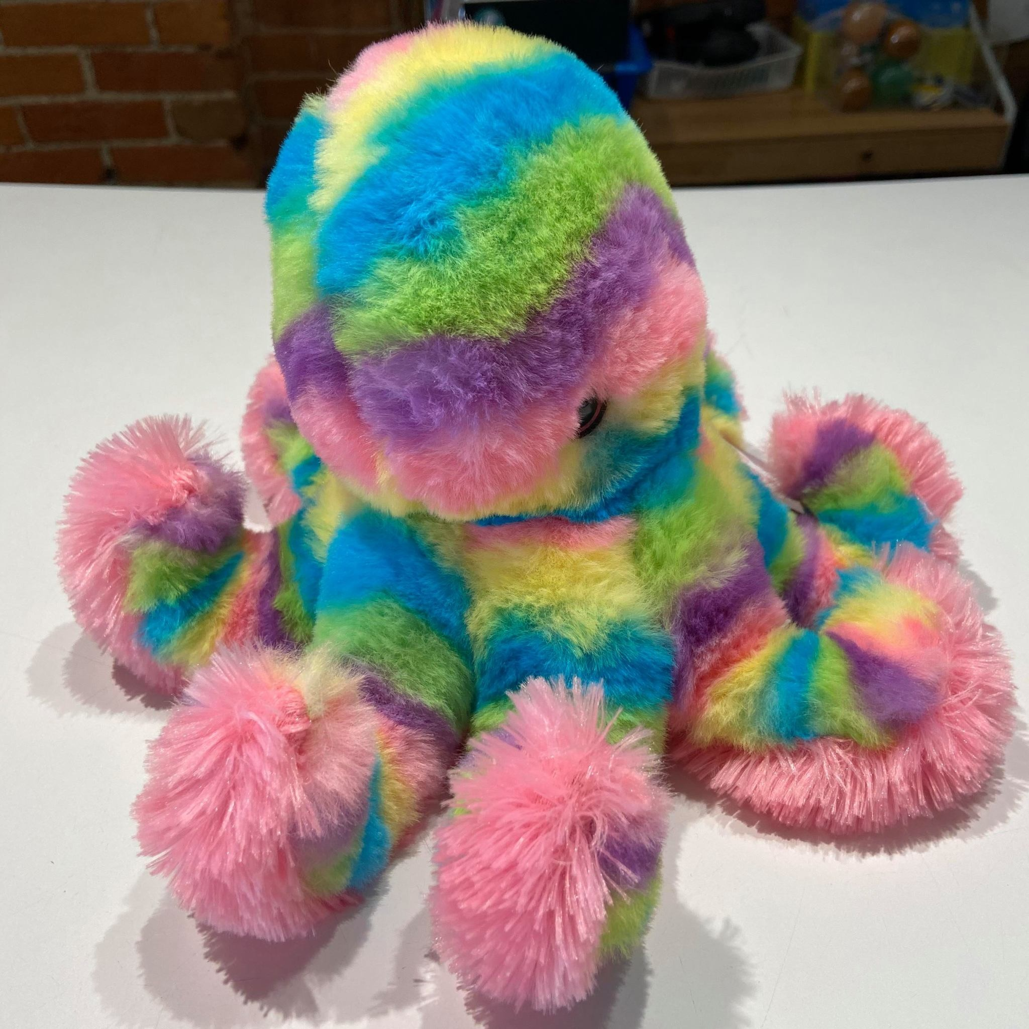 """Rainbow Octopus 12"""""""