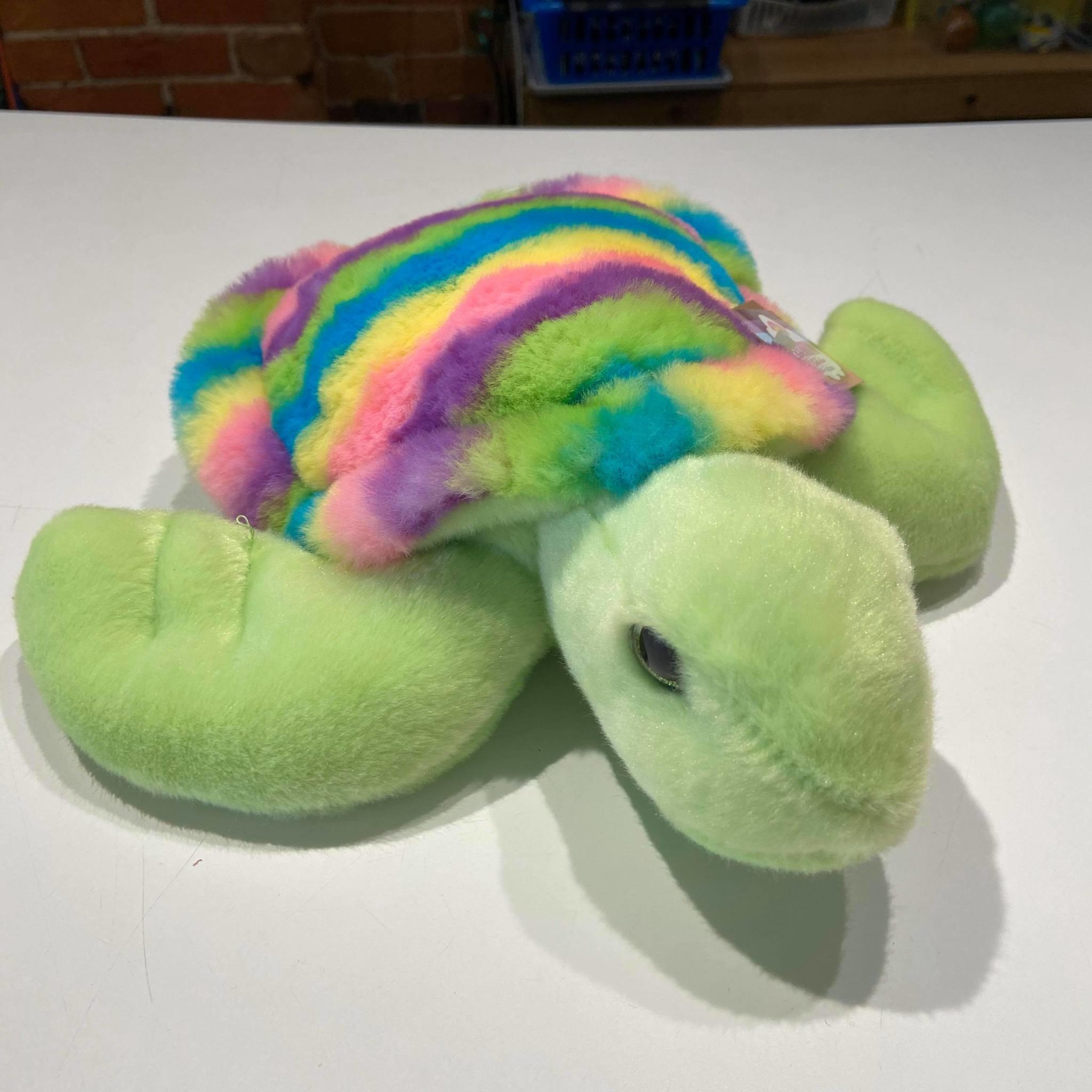 """Rainbow Turtle 12"""""""