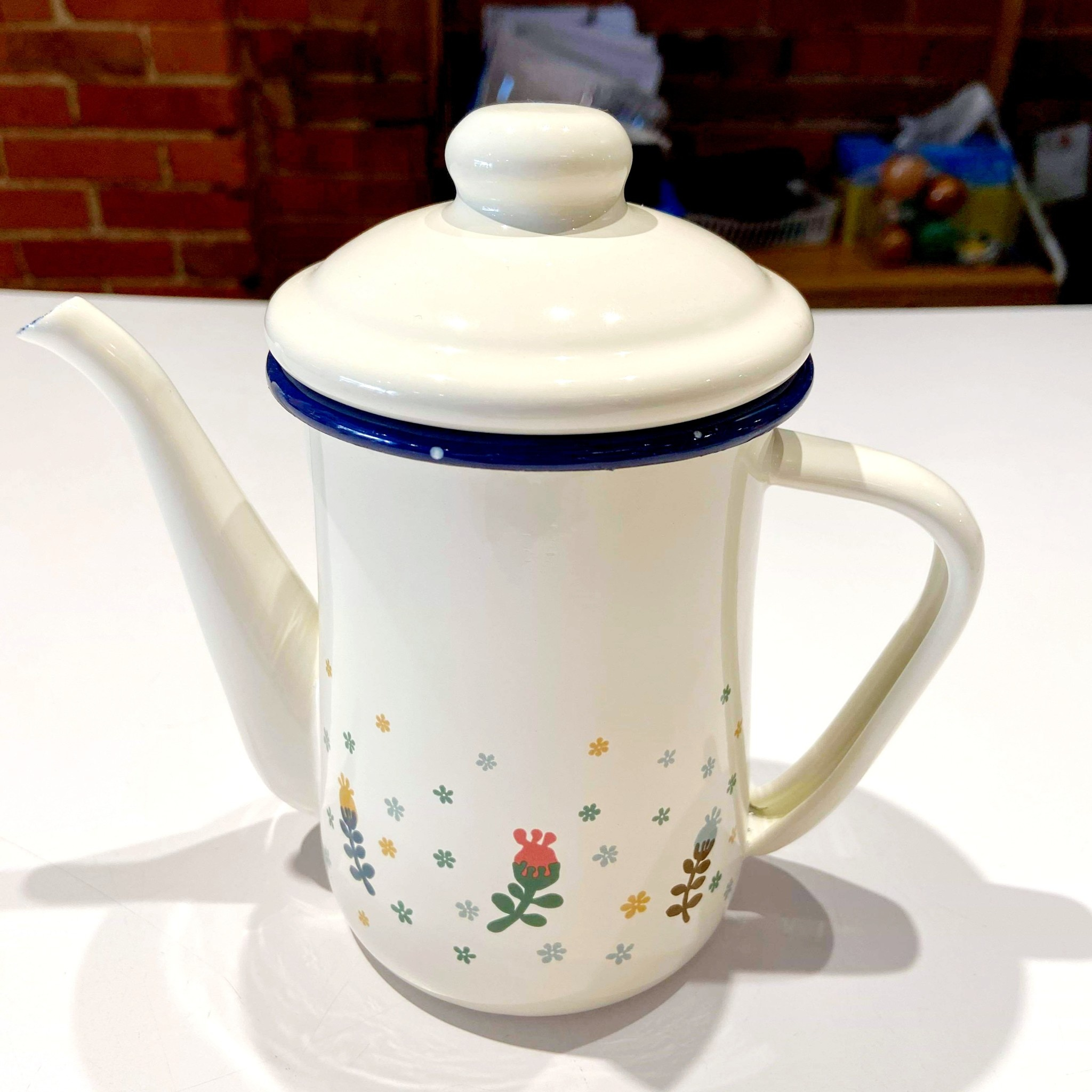 Colorful Flower 0.6L Teapot