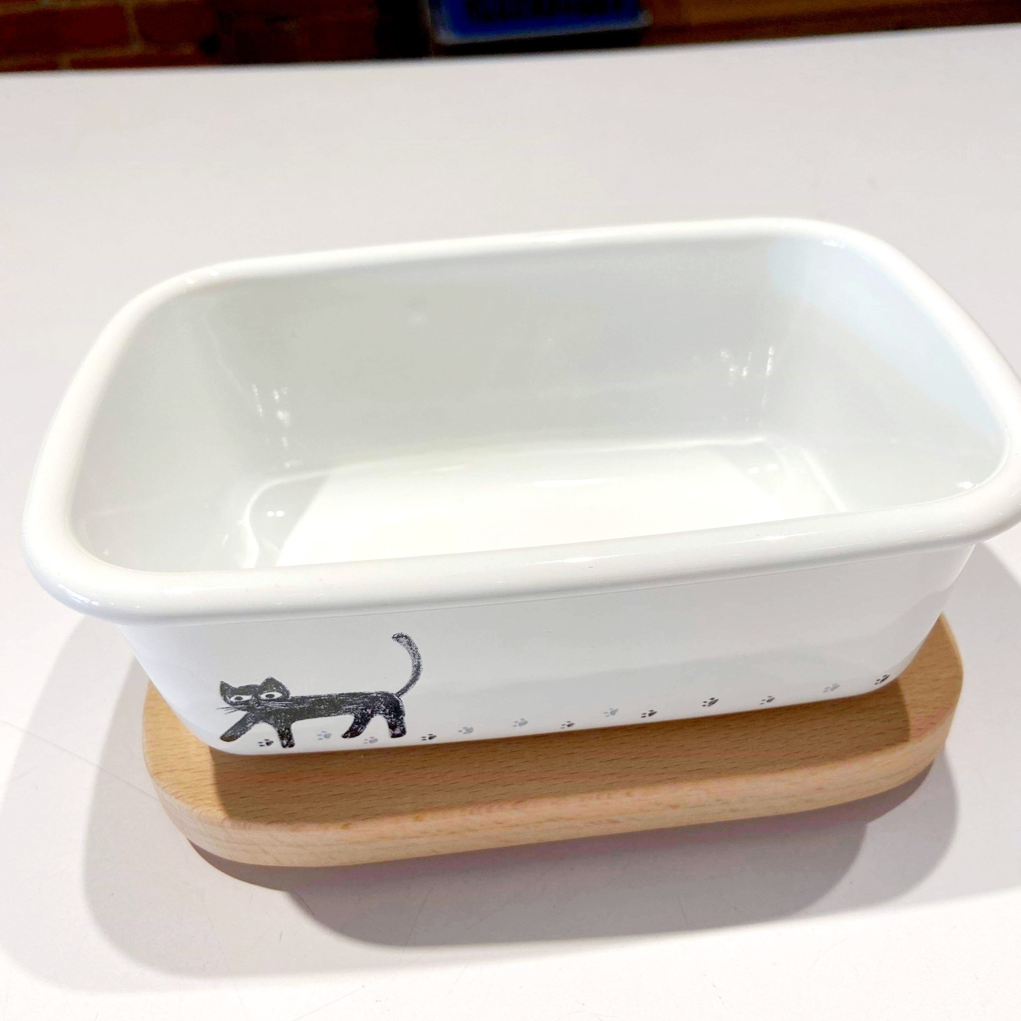 Cat Butter Container