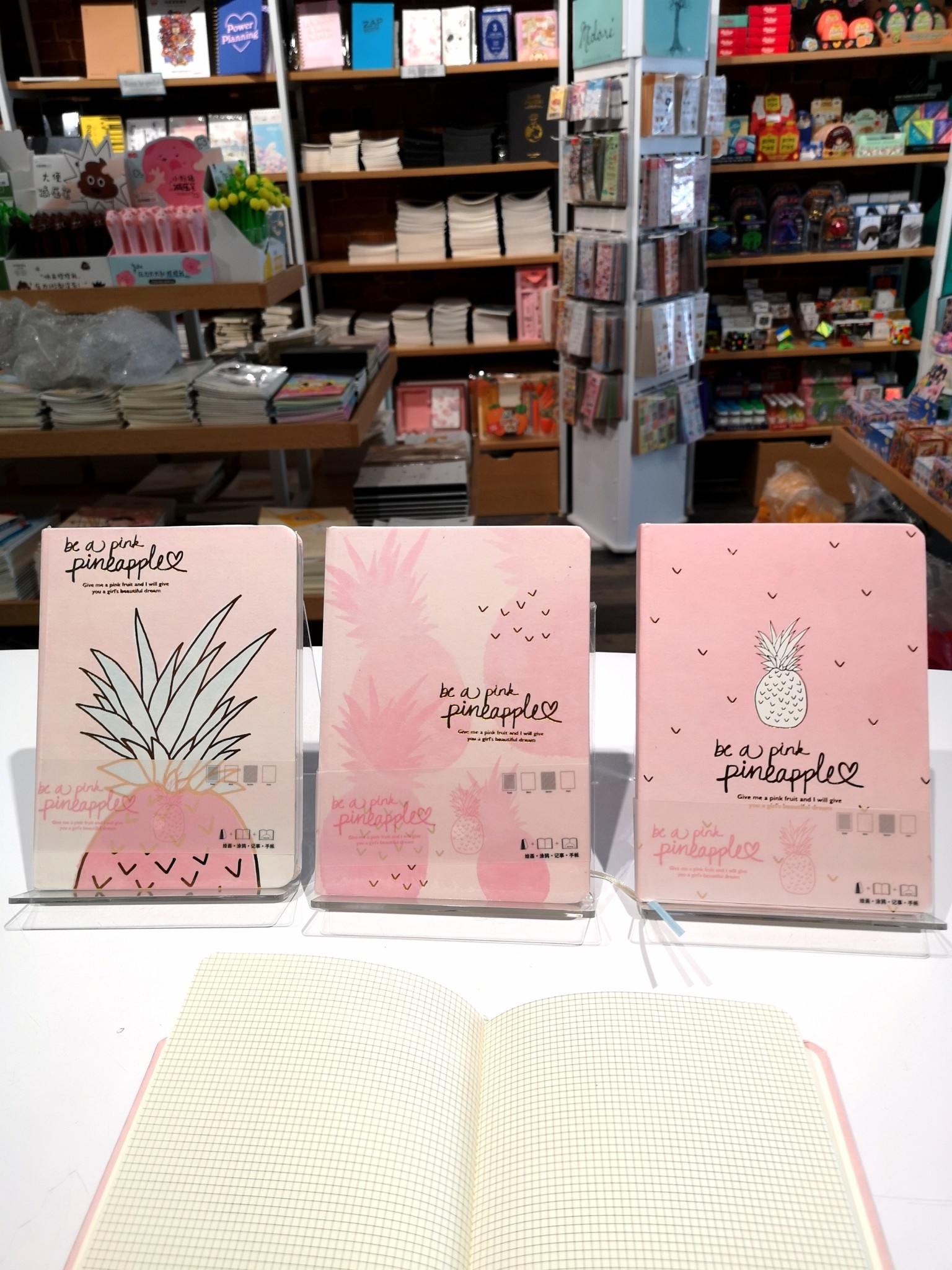 20503 Be a Pink Pineapple Notebook