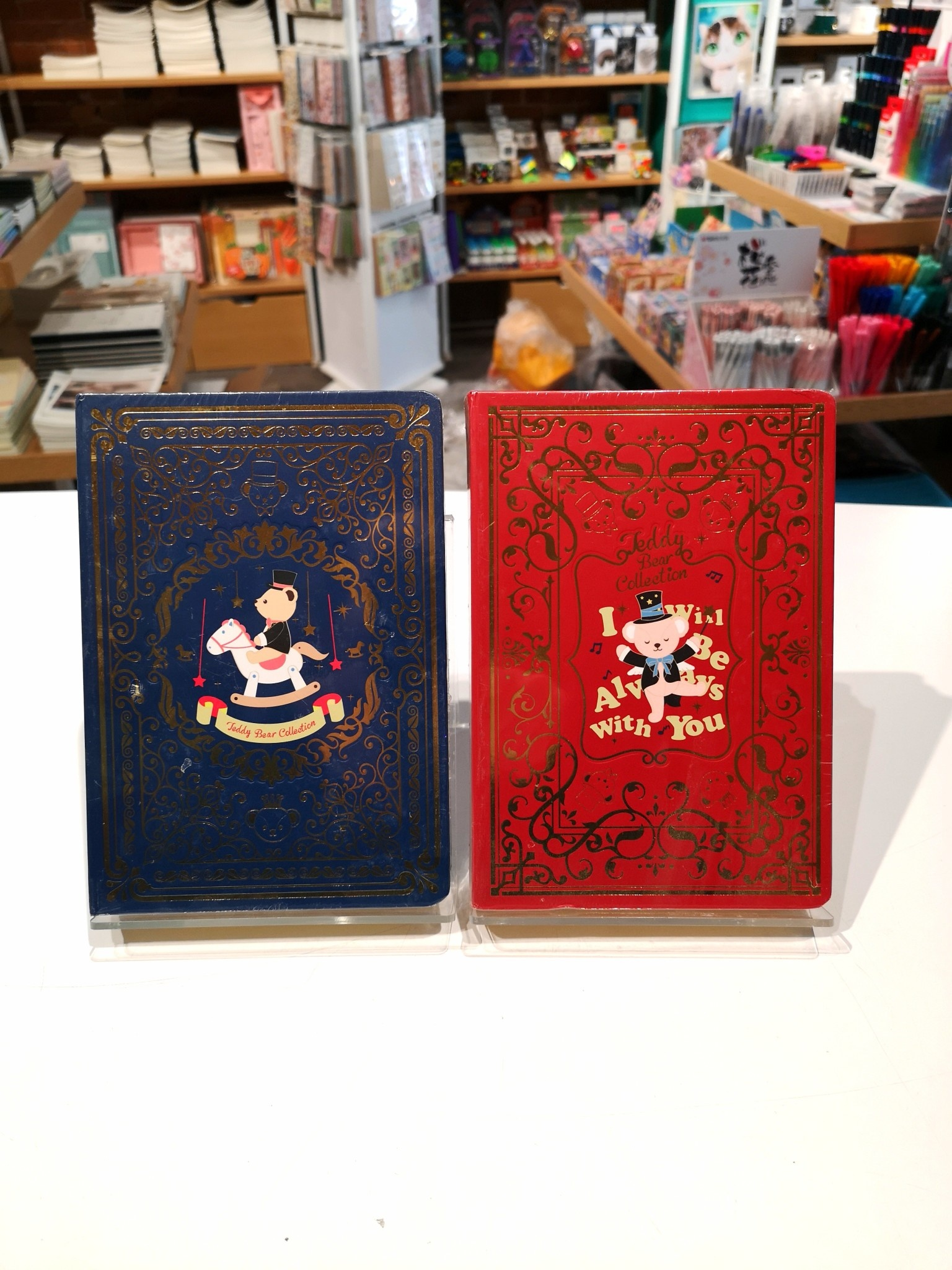 QPYDR934 32240 Teddy Bear Notebook