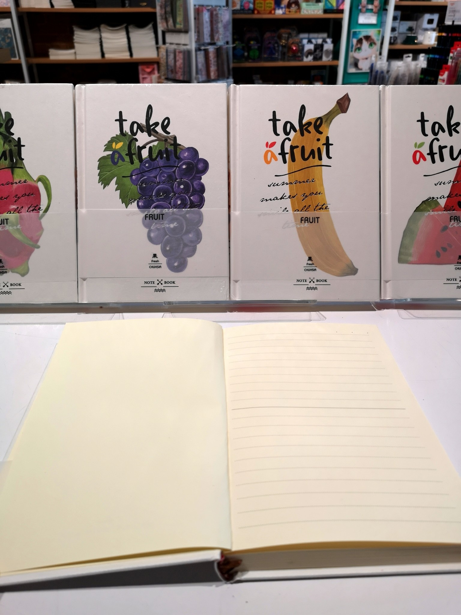 Take a Fruit Notebook