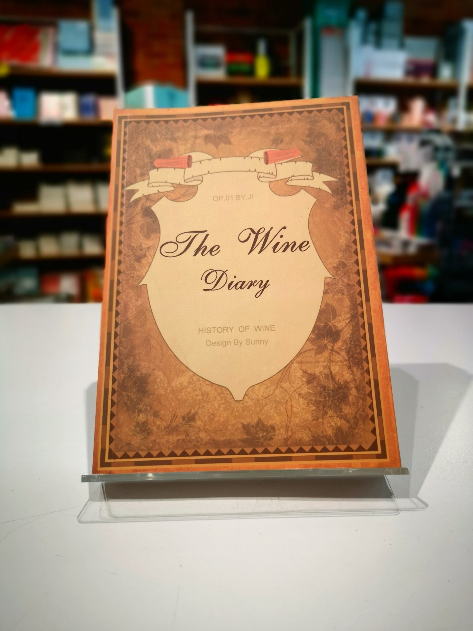 CX-8022I The Wine Diary Planner