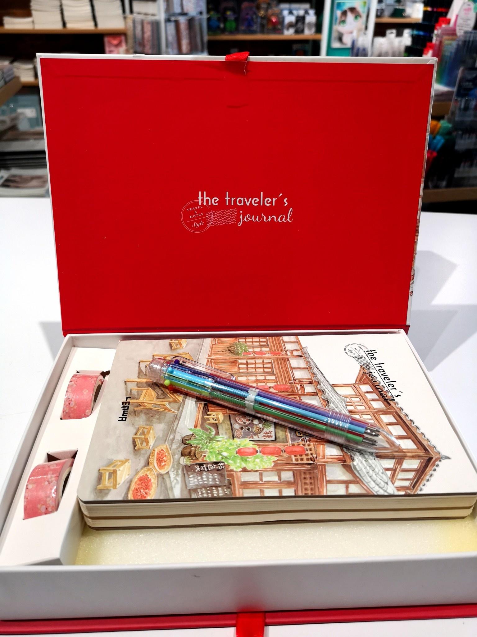 13428C Traveller Journal Gift Box