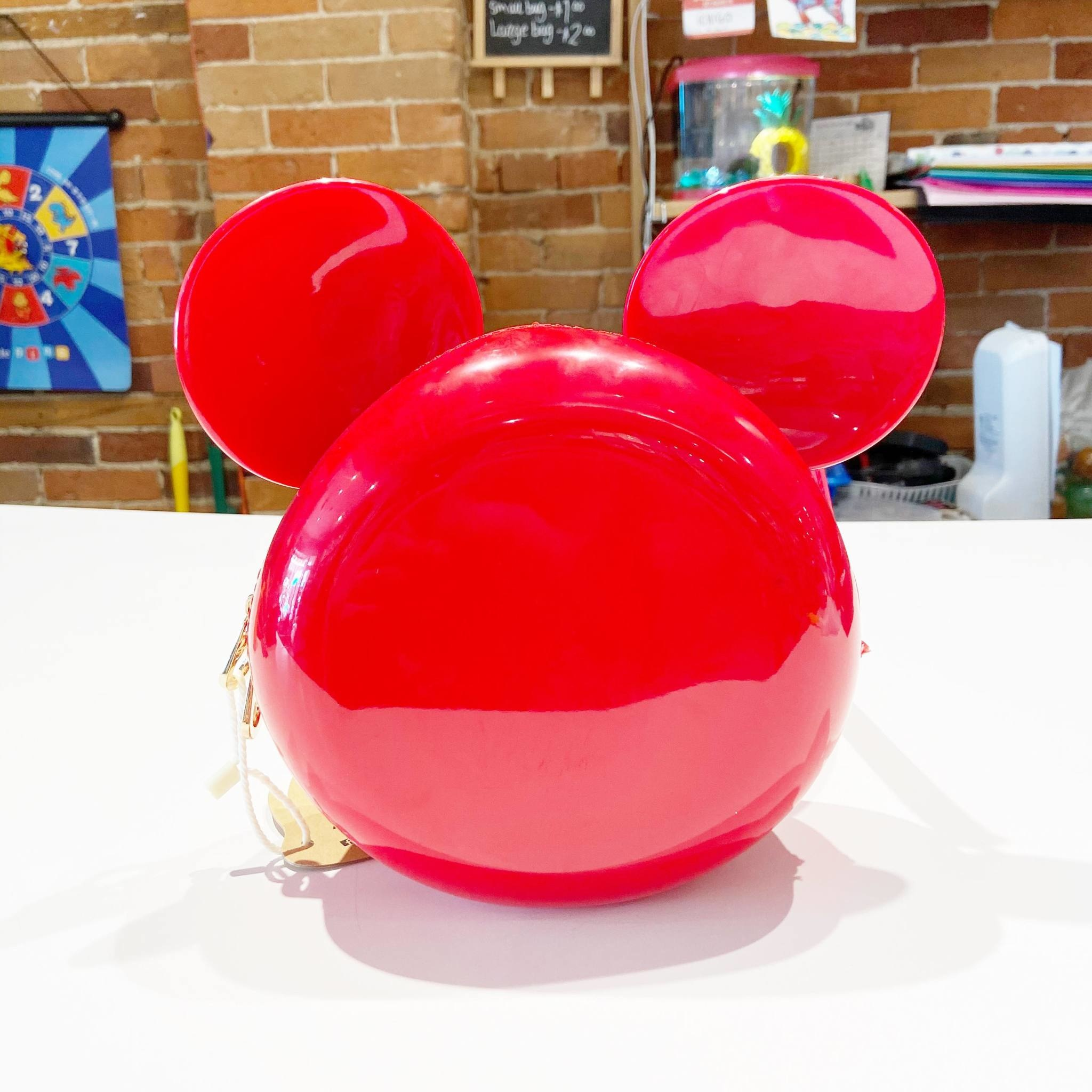 Mickey Mouse Head Red