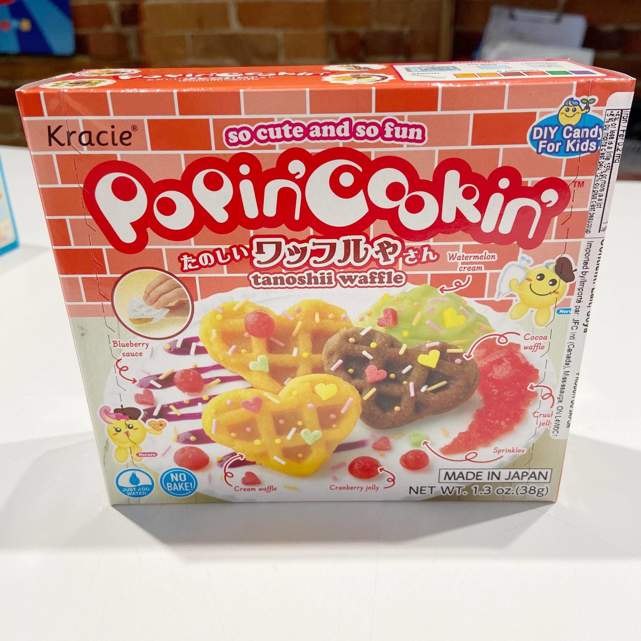 KRC Popin Cookin Waffles