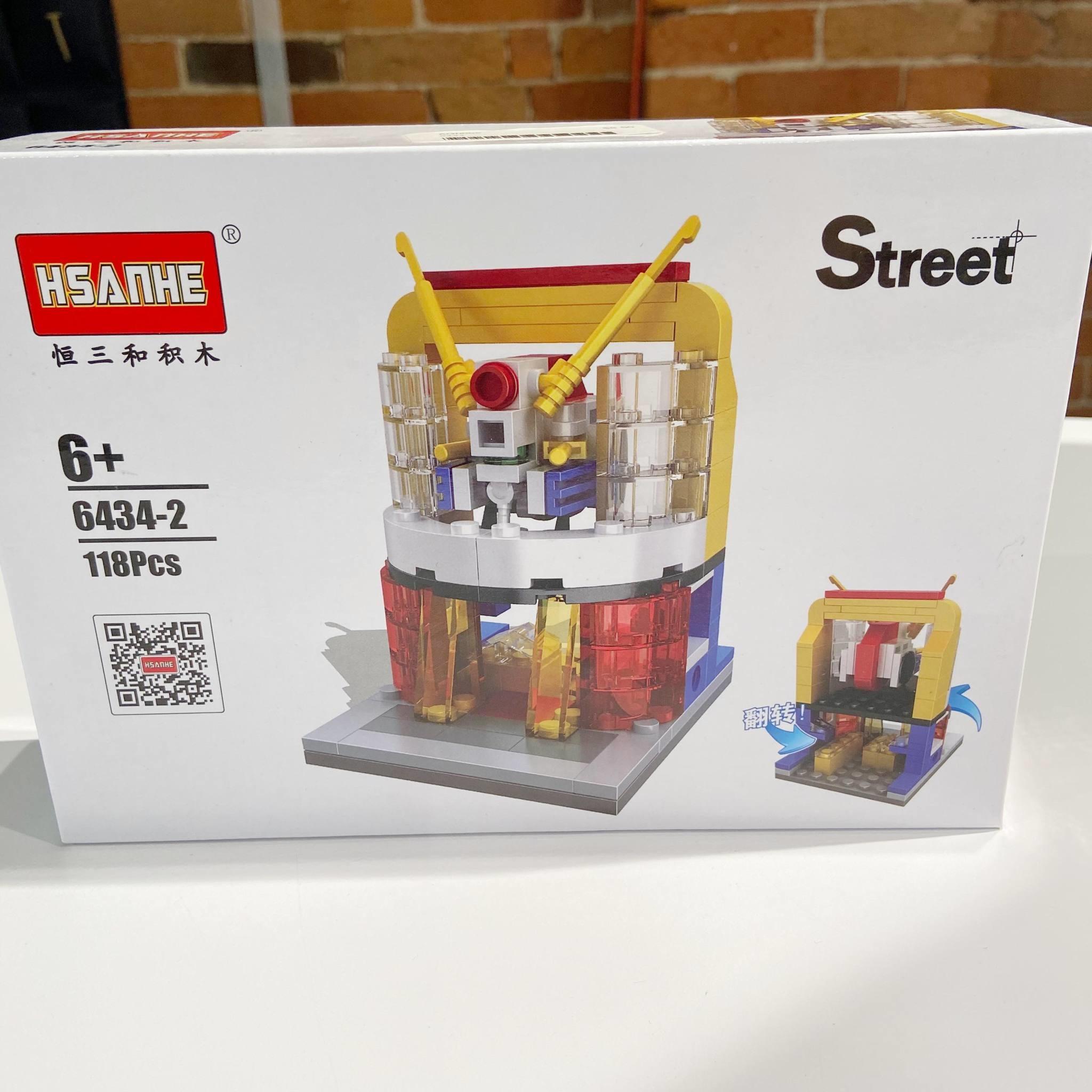 HSANHE Street Building Block 6434