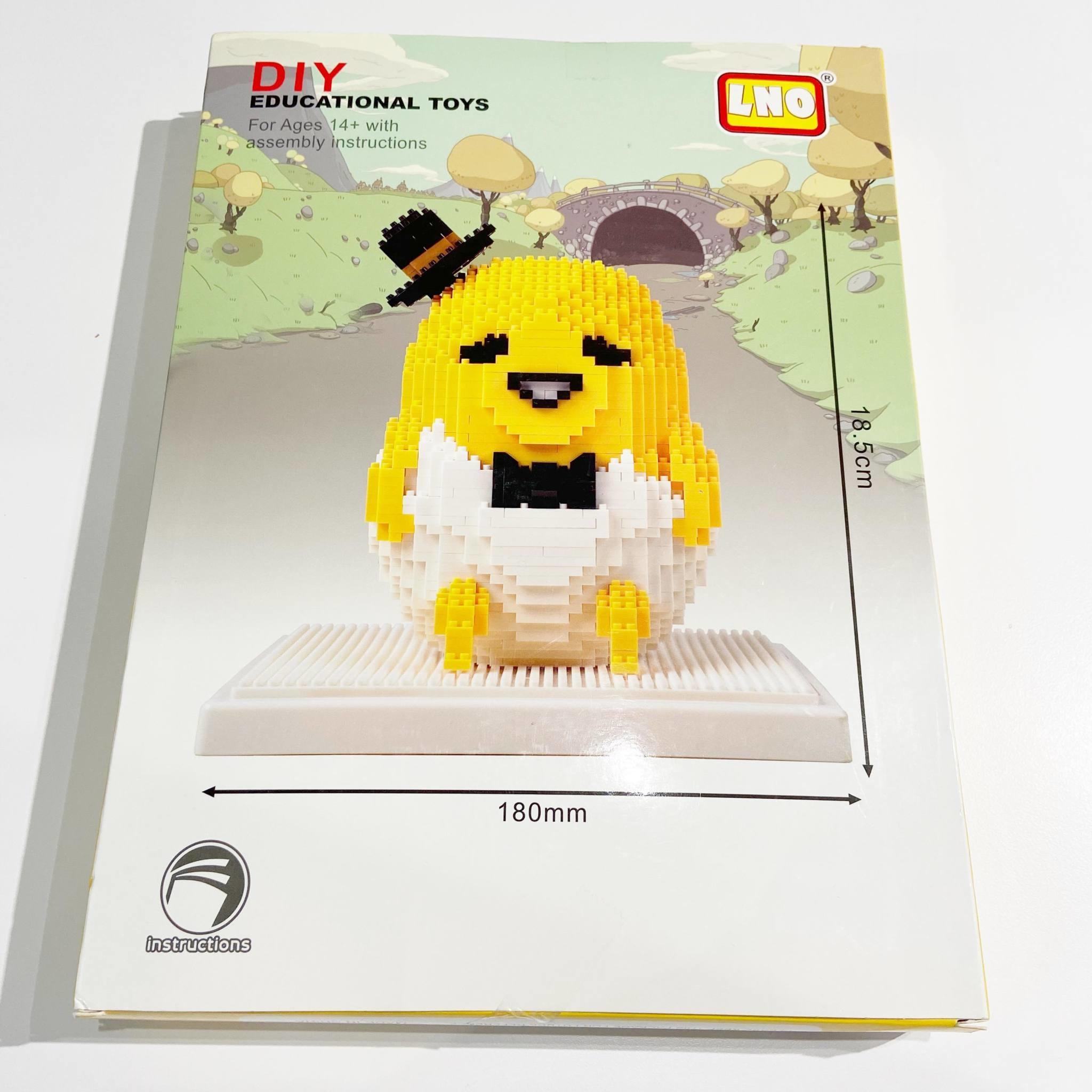 LNO-185 Mr. Egg Yolk Building Block