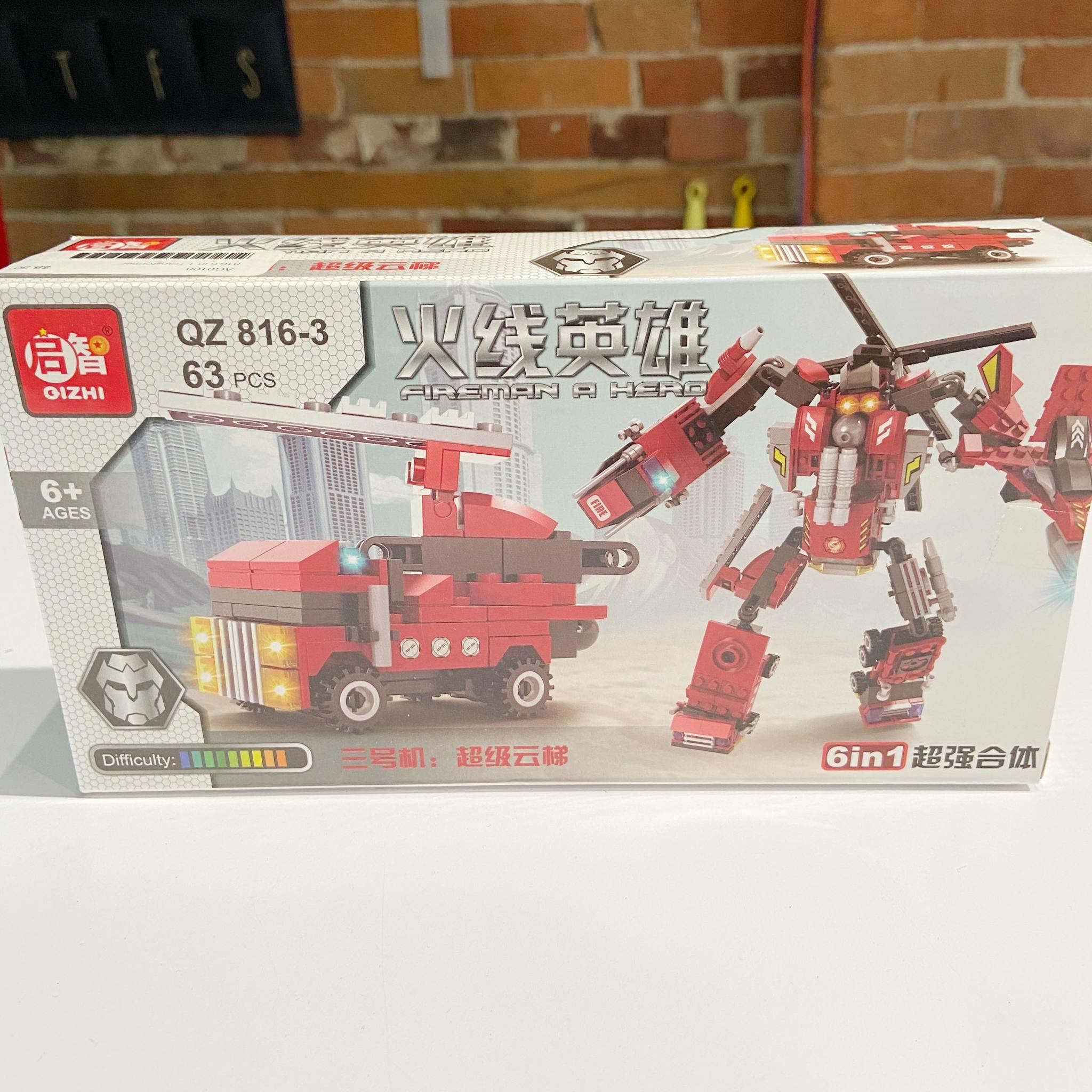 816 6 in 1 Transformer