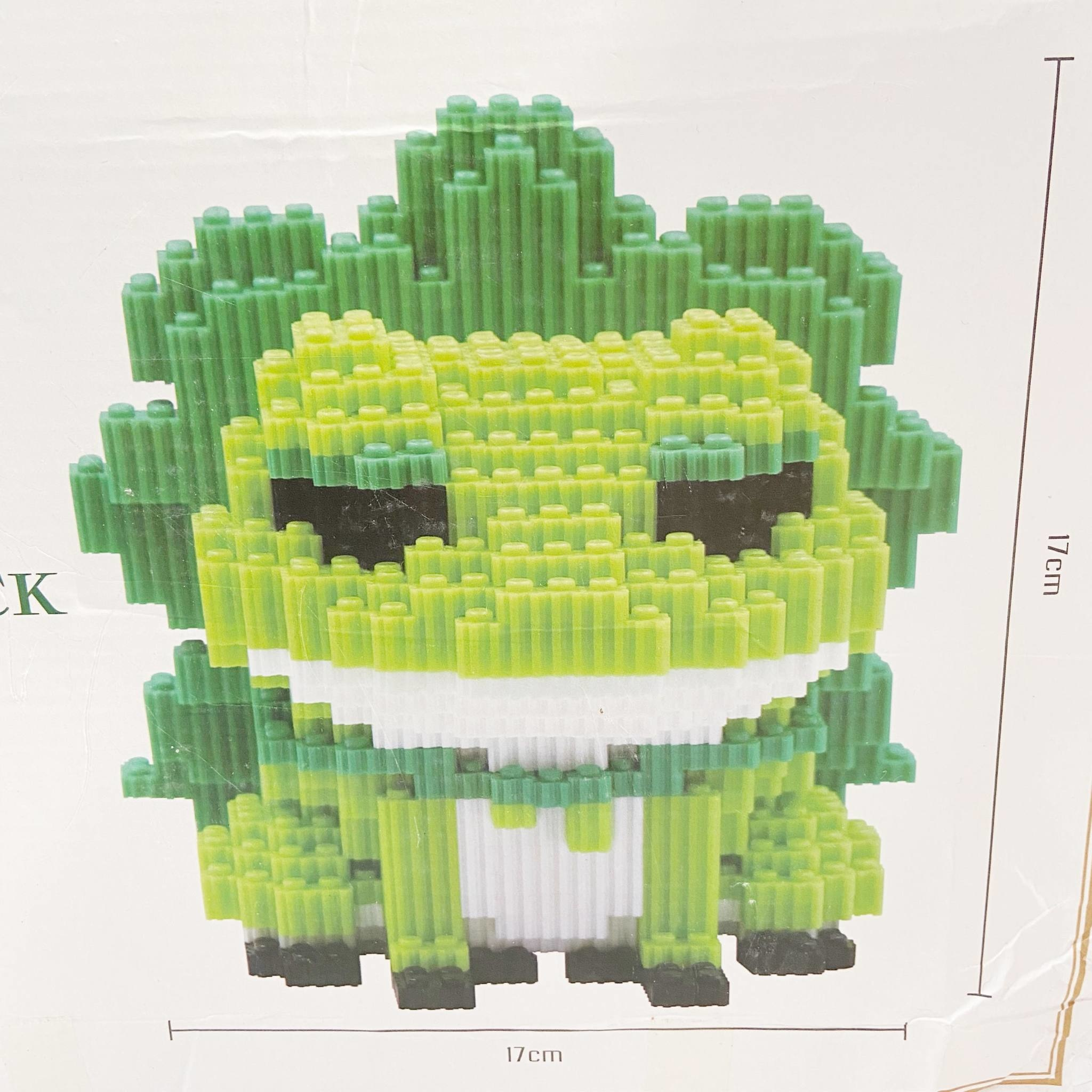 8023 Travel Frog Nanoblock