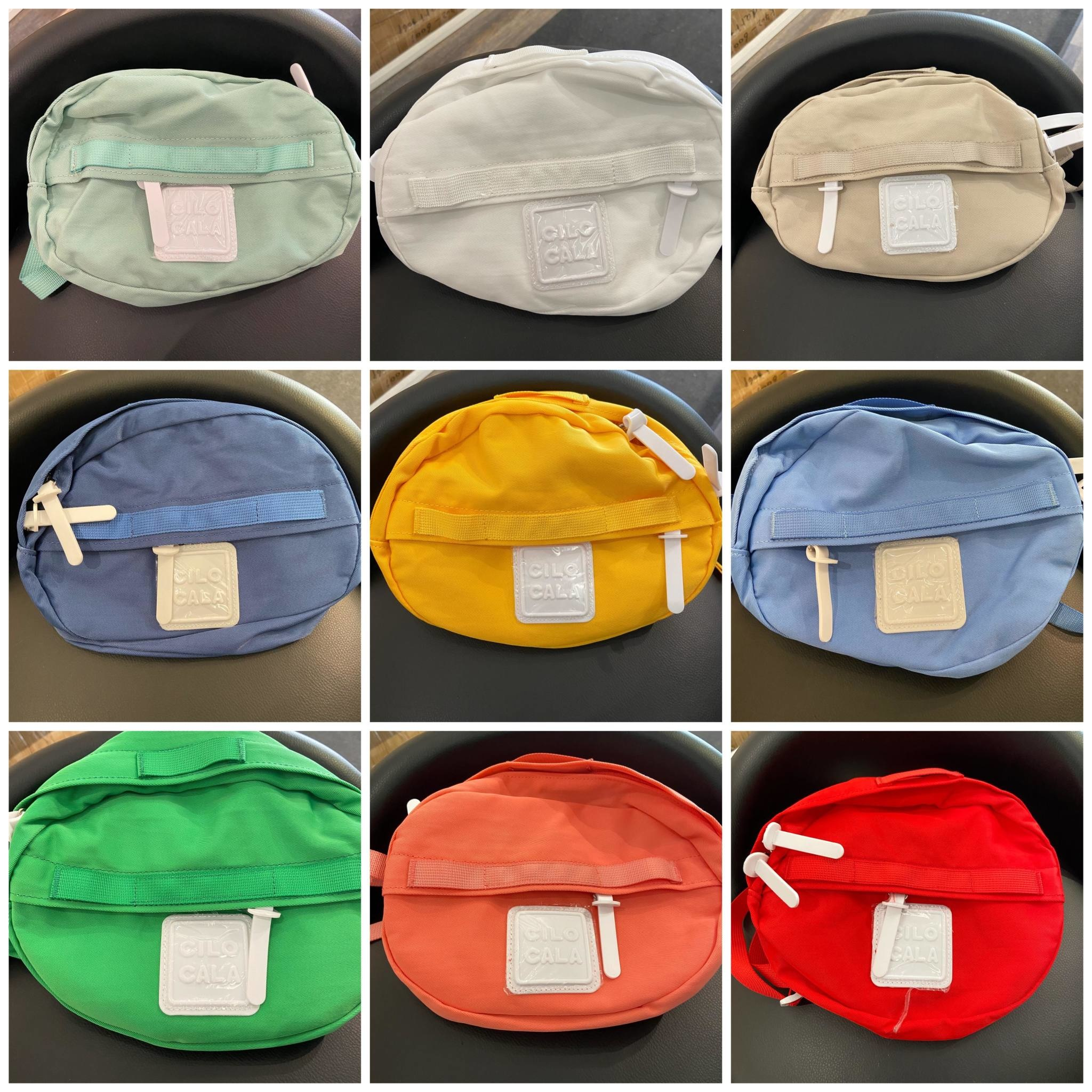 Colorful Multi Pack Round Fanny Pack