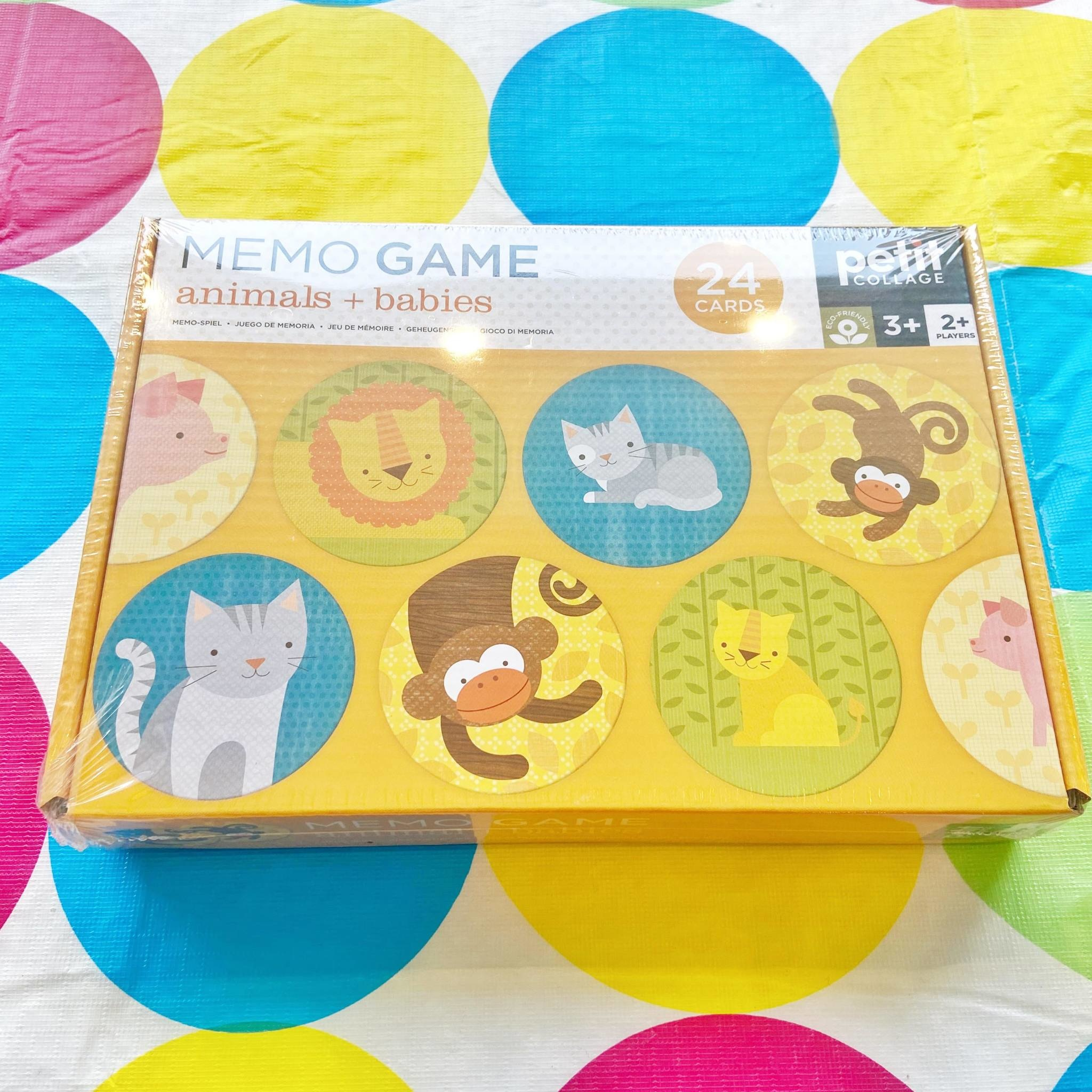 Memo Game Animals and Babies