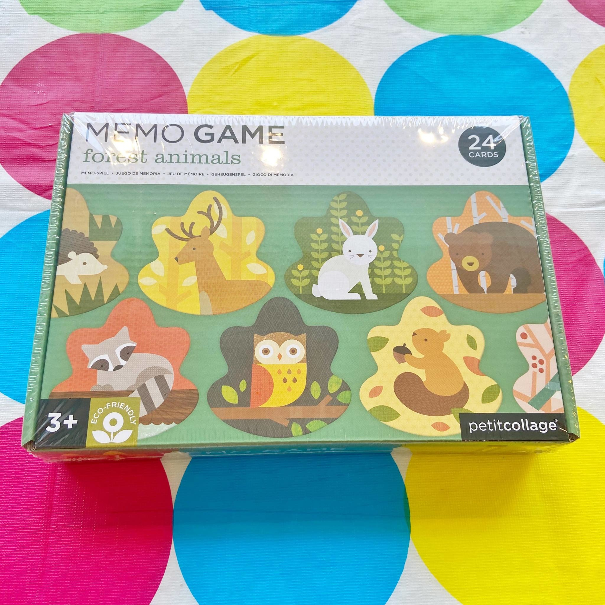 Memo Game Forest Animals