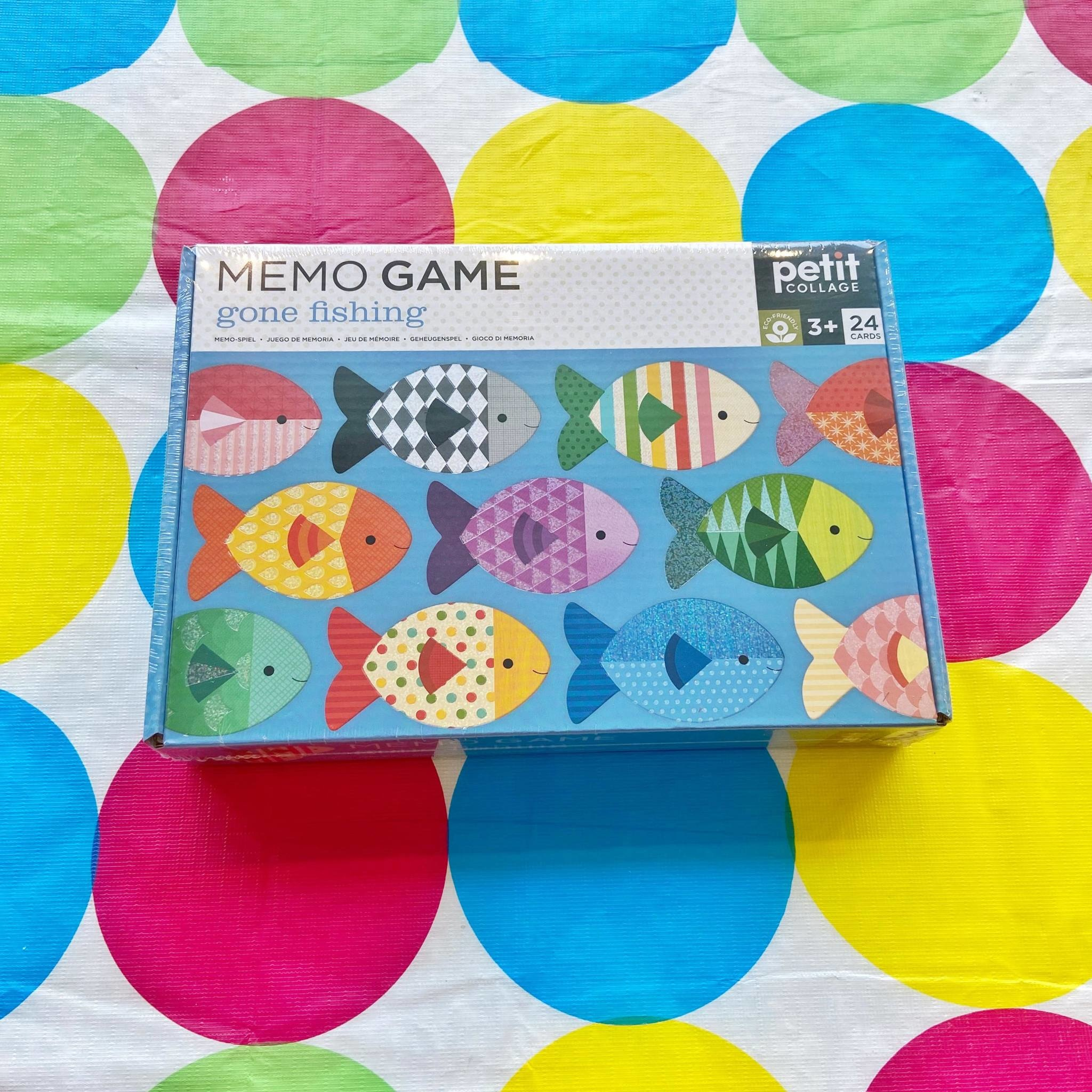 Memo Game- Gone Fishing