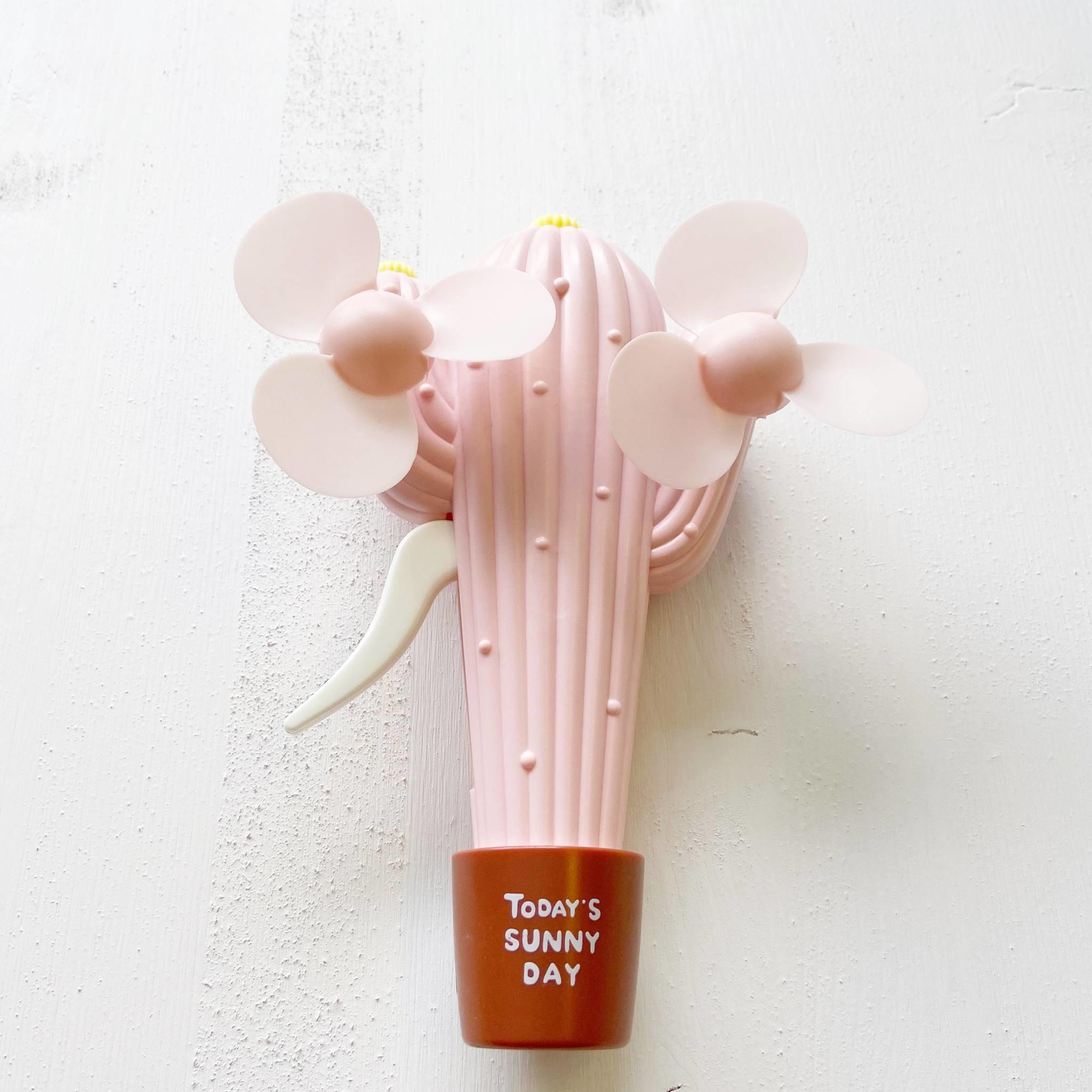 Double Fan Carrot and Pineapple Hand Fan