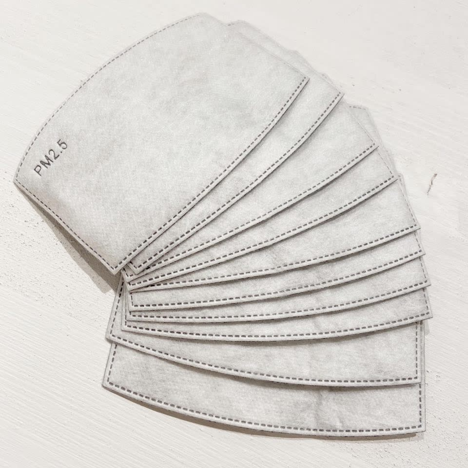 Filters for Adults Cotton Mask (10 in a pack)