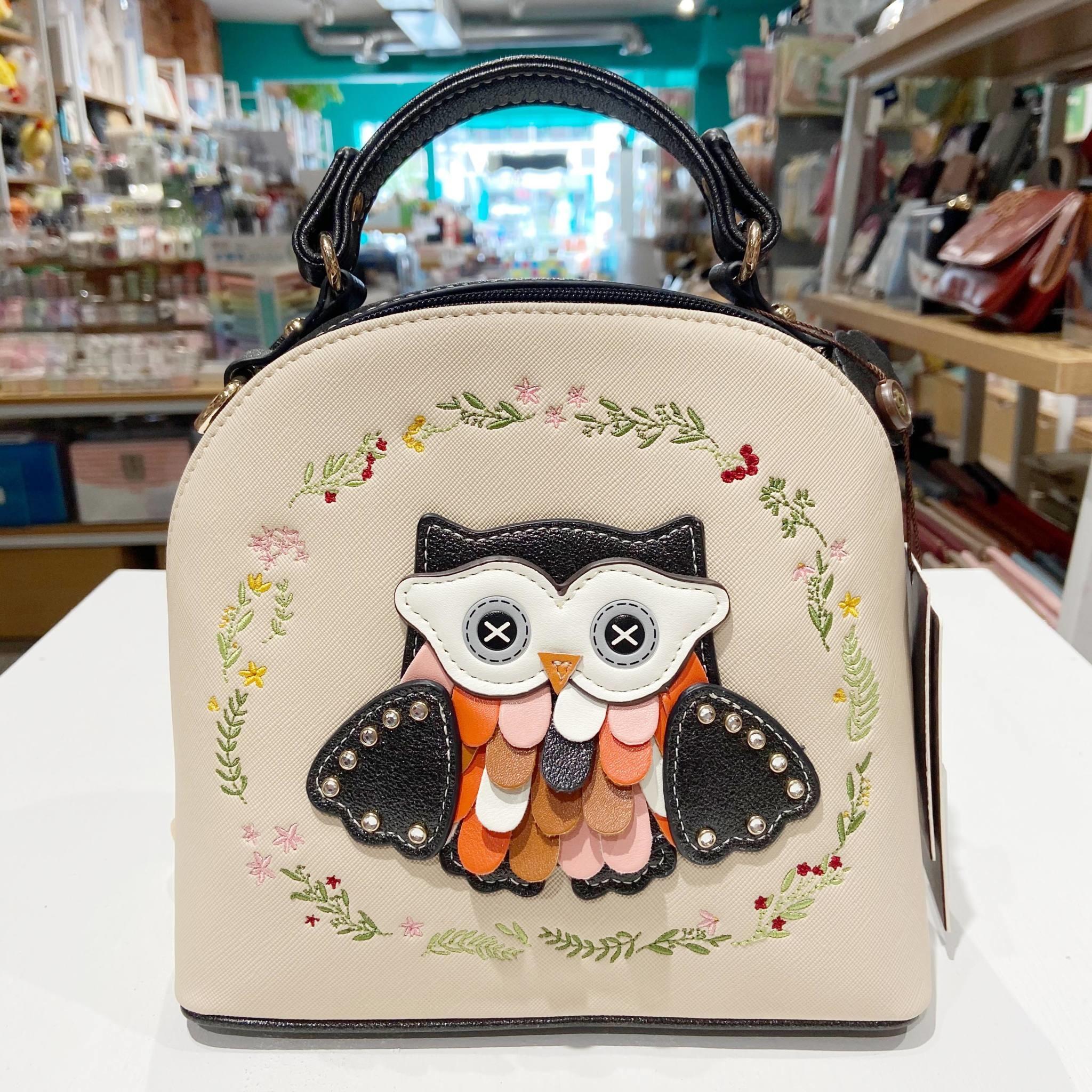 Owl Purse Backpack A101119-34