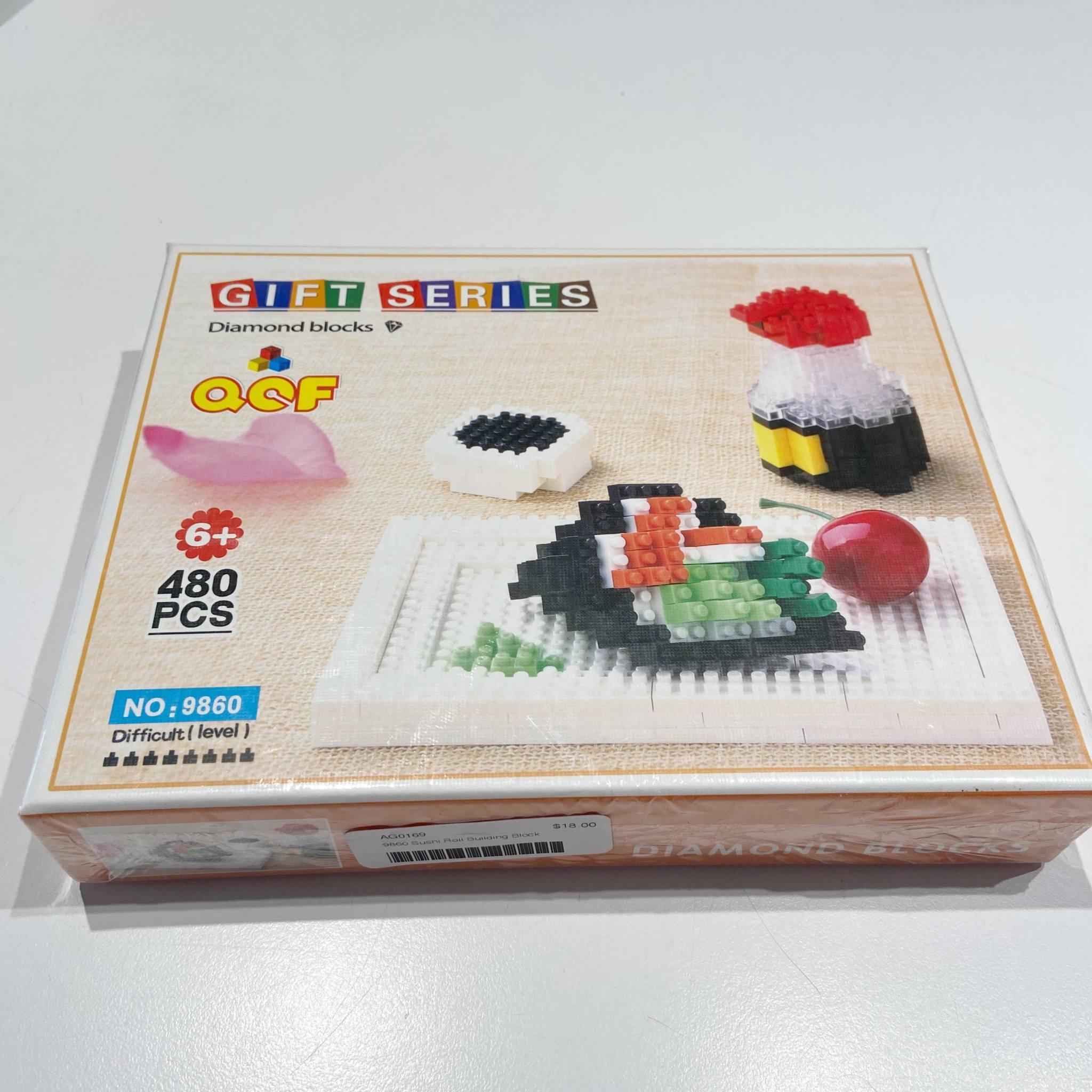 9860 Sushi Roll Building Block
